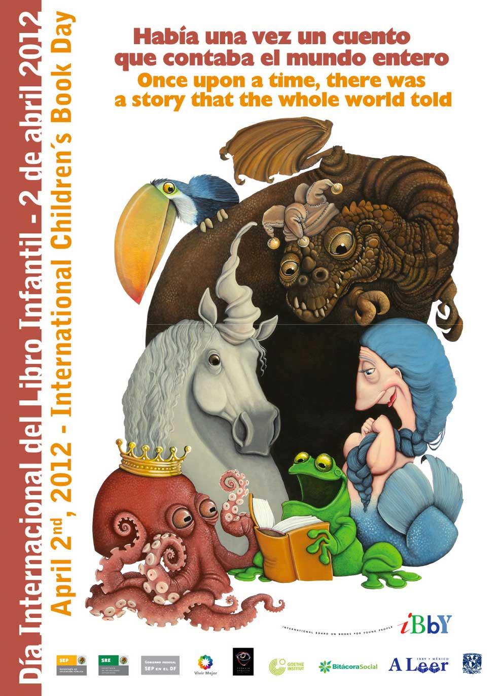Rahvusvahelise lasteraamatupäeva plakat 2012