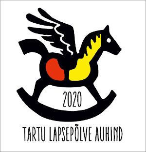 Tartu Lapsepõlve auhinna logo 2020