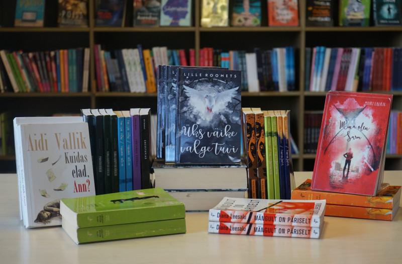 Algupärase noorteromaani võistluse raamatud