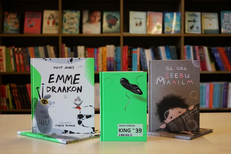 Eesti raamatud White Raven kataloogis