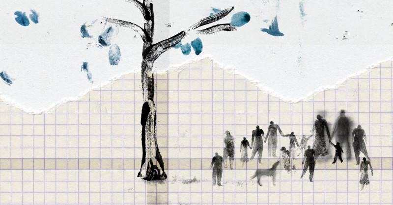"""Amanda Mijangose illustratsioon raamatule """"Parentalia"""""""