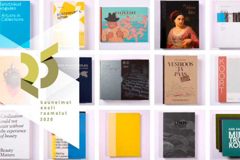 """2020 """"25 kaunimat eesti raamatut"""""""