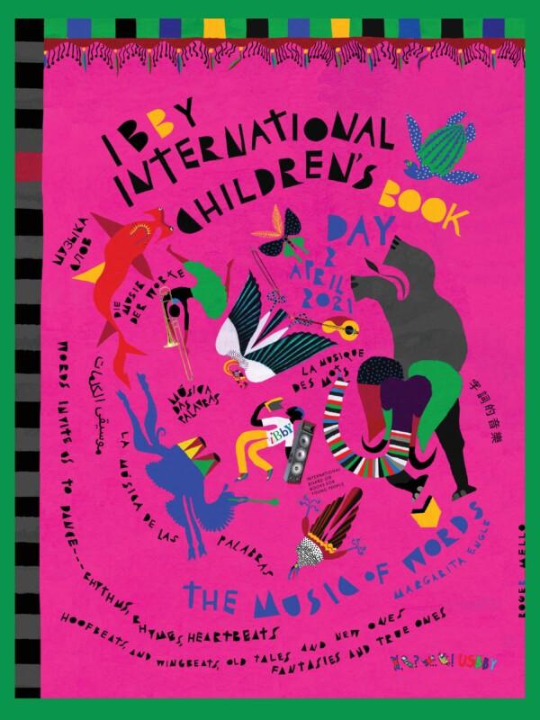 Rahvusvahelise lasteraamatupäeva poster 2021