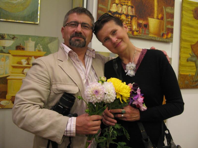 Valgevene kunstnikud Alexander Demidovi ja Hanna Karaleva