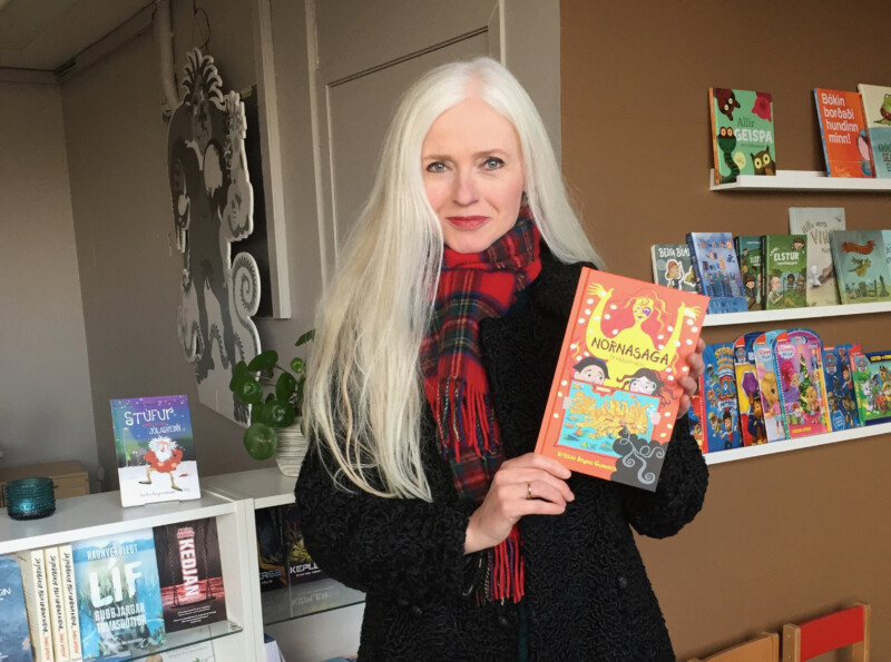 Islandi kirjanik ja illustraator Kristin Ragna Gunnarsdottir