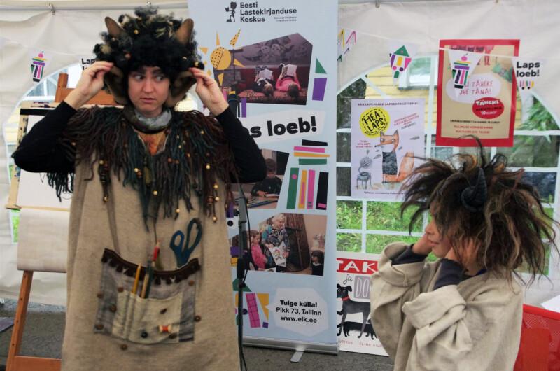 Lastelugude laat IV kirjandustänava festivalil